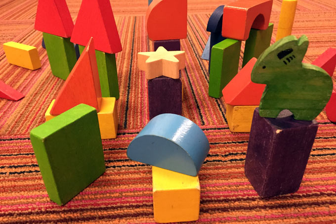 The 10-minute city built on Mark Roberts's office floor while he was out