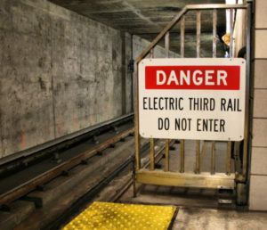 Danger-Electric Third Rail-Do Not Enter
