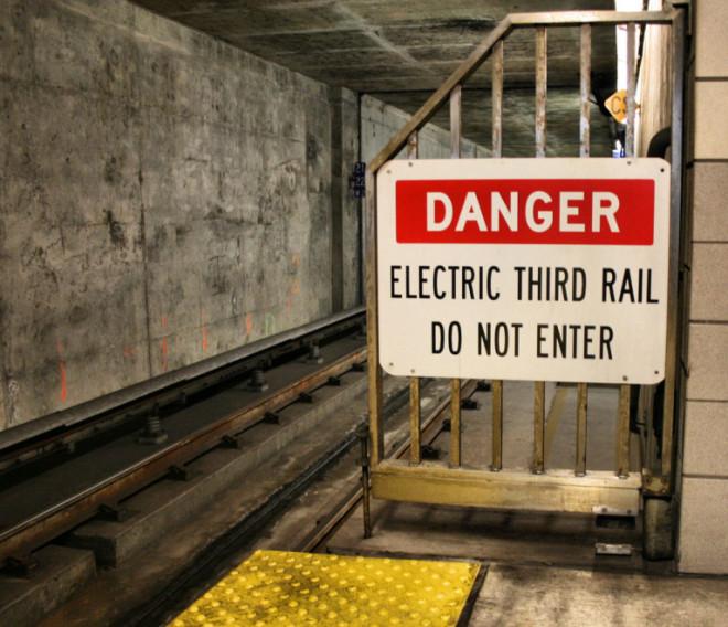 Danger-Electric Third Rail-Do Not Enter