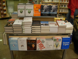 Business Books - Borders Bookstore at SeaTac Airport