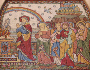 Noah offering sacrifice