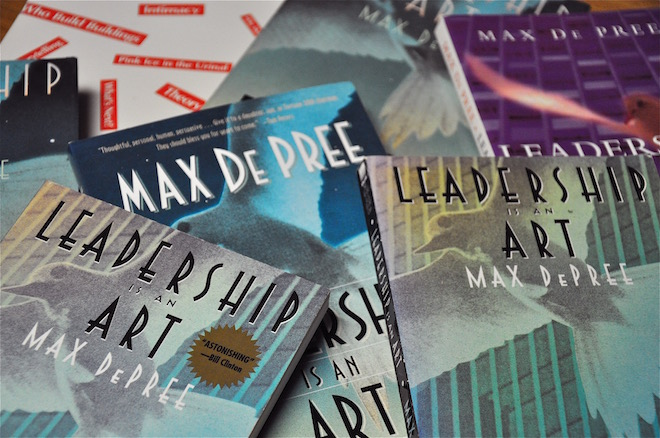 Photograph of Leadership Is an Art by Max De Pree