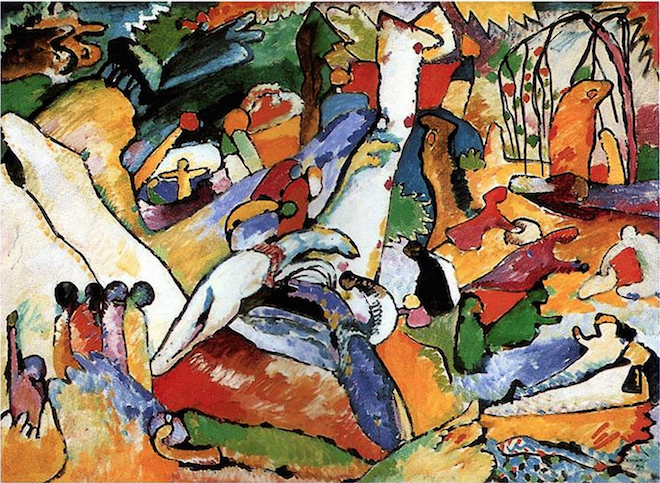 "Kandinsky's Study to ""Composition II"""