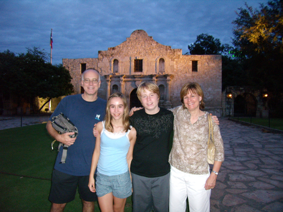 The obligatory Alamo photo above is from our first week in Texas.