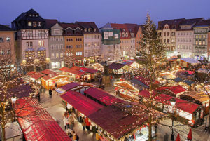Christmas Market in Jena, Germany.