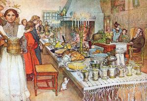 Julaftonen by Carl Larsson, 1904