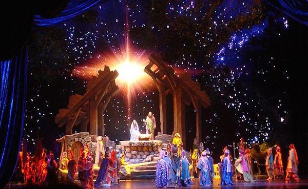 Living Nativity, Christmas Spectacular at Radio City Music Hall