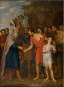 Joseph sold by his brothers - Balthasar Beschey