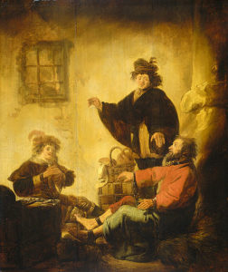 Joseph interpreting the dreams of the baker and the butler by Benjamin Cuyp