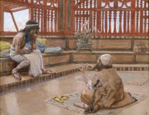 Joseph Converses with Judah, His Brother, Artist: Tissot, © The Jewish Museum, New York.