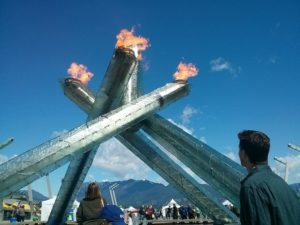 Vancouver Olympic Torch Cauldron