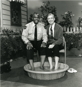 Mr. Fred Rogers & Officer Francois Clemmons