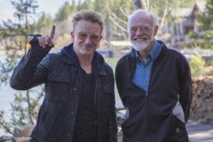Bono & Eugene Peterson