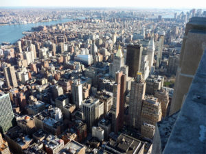 New York from the Empire State Buidling