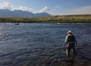 Madison River with guide