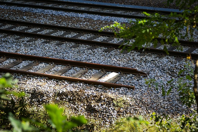 Train tracks that end unexpectedly