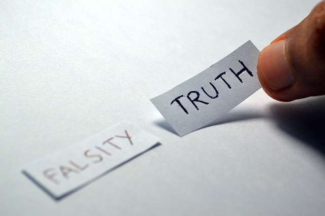 Choices of falsity or truth to choose from.