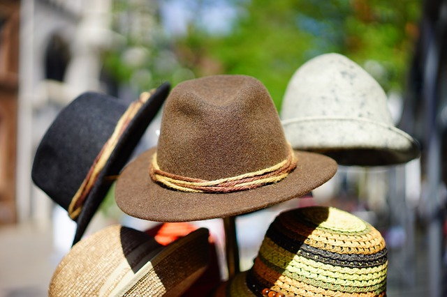 Hats representing the many roles that it takes to bring a work vision to fruition.