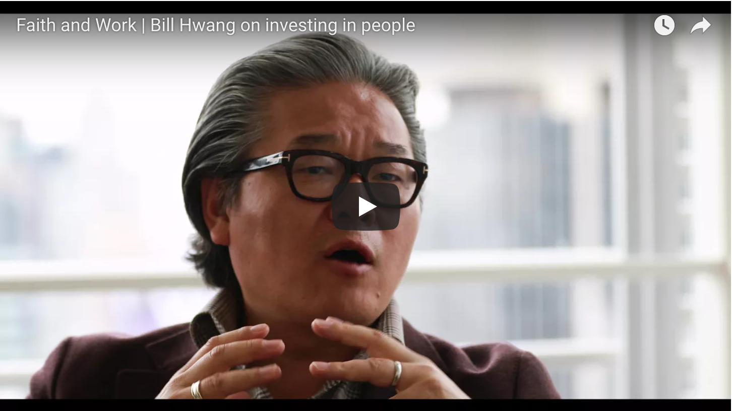 On Investing in People