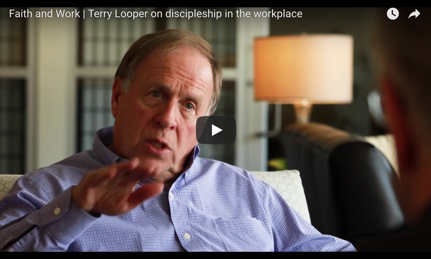 Terry Looper on Discipleship in the Workplace