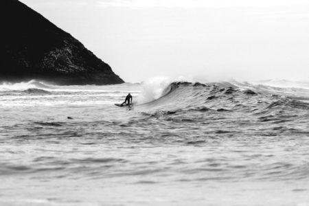 Someone surfing.