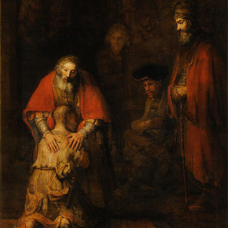 The Return of the Prodigal Son by Rembrandt van Rijn.