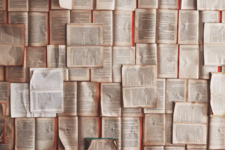 many open books
