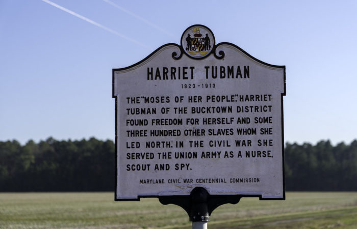 Harriet Tubman - Maryland historical marker