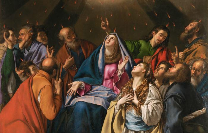 Pentecost by Juan Batista Maino, 1620-1625