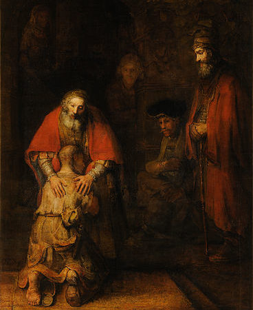 Return of the Prodigal Son, Rembrandt van Rijn