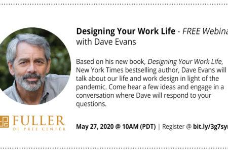 Webinar: Designing Your Work Life