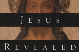 "A book cover showing an icon of Jesus with the words ""Jesus Revealed"" across it"