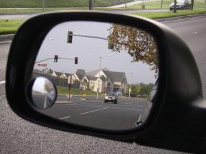 Irvine Presbyterian in mirror