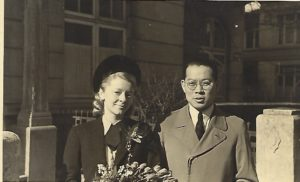 My Parents at their Wedding in 1941 © The Chi Family