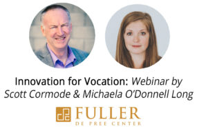 Webinar: Innovation for Vocation