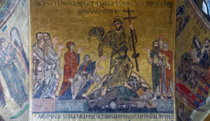 The Harrowing of Hell as depicted in St. Mark's Church in Venice