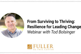Webinar: From Surviving to Thriving
