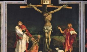The Crucifixion by Grunewald