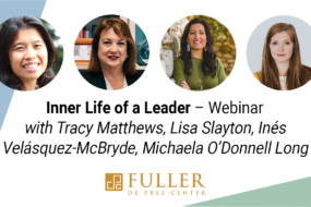 Webinar: Inner Life of a Leader