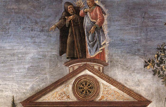 Sandro Botticelli, The Temptation of Christ - 1480-1482