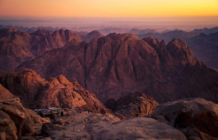 The summit of Mt. Sinai