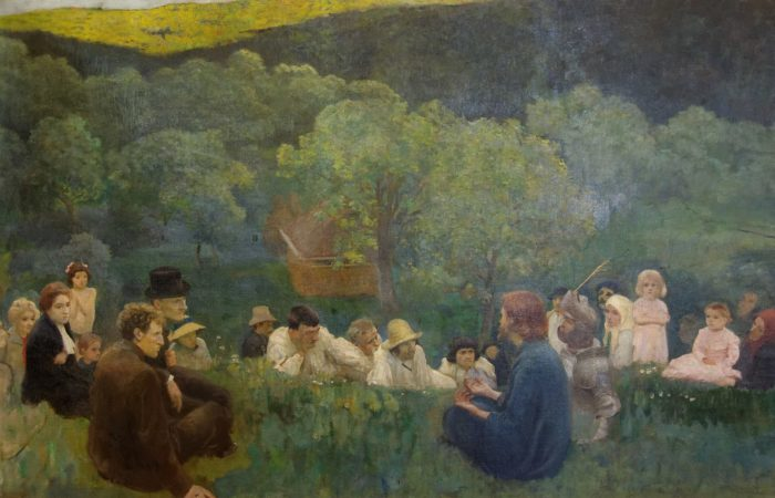 The Sermon on the Mount by Károly Ferenczy (1896)