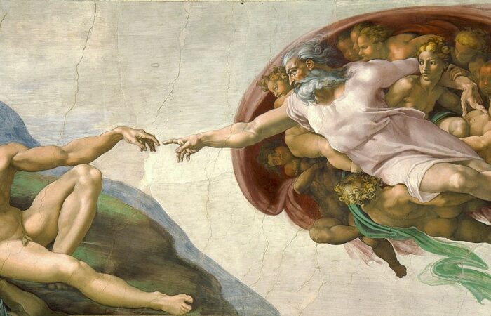 The Creation of Adam, Michelangelo, c. 1511